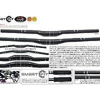 OnebyESU(ワンバイエス) スマートフィット カーボンライザー31.8mm ハンドル 660mm  660mm