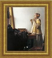 真珠の首飾りの少女 フェルメール 複製画 巧藝画