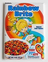 Rainbow Brite Cereal Fridge Magnet by Blue Crab Magnets