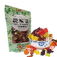 中国のファッションフルーツティー 100g (0.22LB) 新しいお茶フラワーティーハーブティーグリーンティー健康茶グリーンフードChinese tea Flower tea fruit tea Herbal tea Green tea