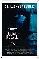 映画の金属看板 ティンサイン ポスター / Tin Sign Metal Poster of Movie Total Recall