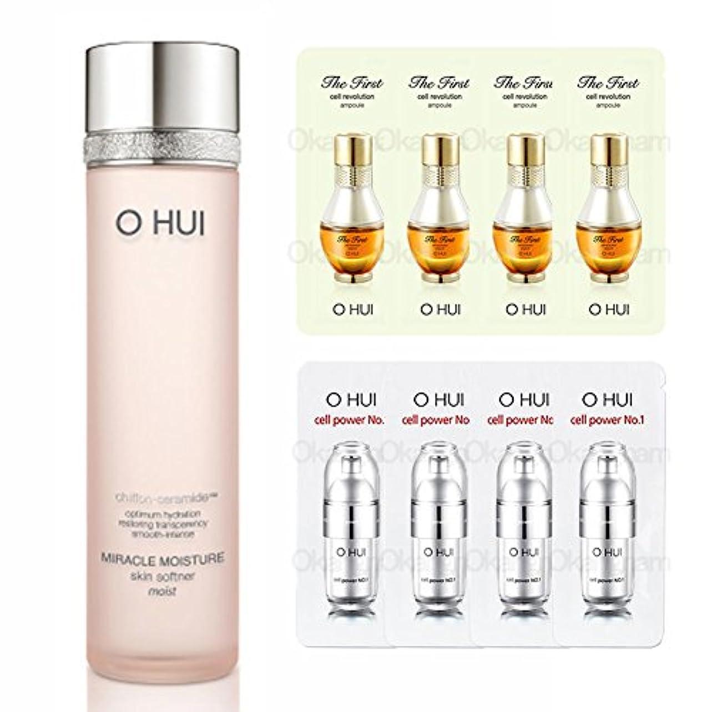 パトロン安全な練習[オフィ/ O HUI]韓国化粧品 LG生活健康/OHUI MIRACLE MOISTURE SKIN SOFTNER MOIST/ミラクルモイスチャー スキンソフナー しっとりタイプ 150ml +[Sample Gift](海外直送品)