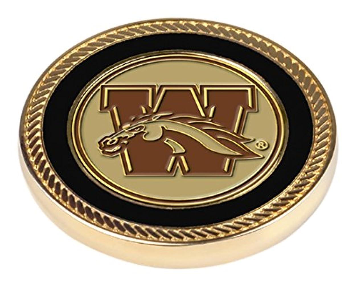 証言する男性ジャズNCAA Western Michigan Broncos – Challenge Coin / 2ボールマーカー