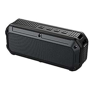 AUKEY ポータブル Bluetooth4.0 スピーカー ワイヤレススピーカー 6W 自転車に固定できる スマートホン/タブレットなど対応 (グレー)SK-M8