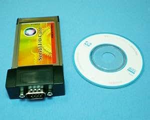 119-ノートPC用PCカード(PCMCIA) から 9ピンシリアルポートRS232変換