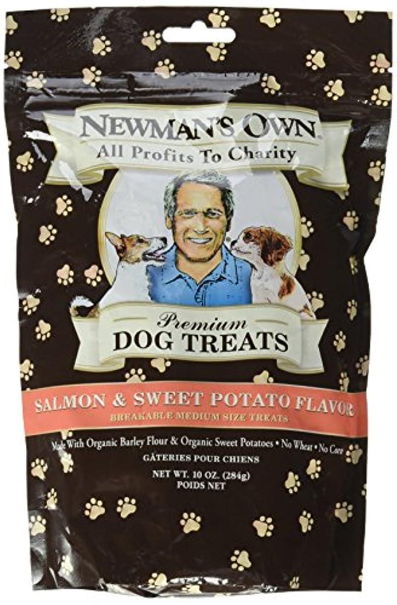 幸運南大学生海外直送品Newman's Own Organics Organics Dog Treats, Salmon and Sweet Potato 10 OZ(case of 6)