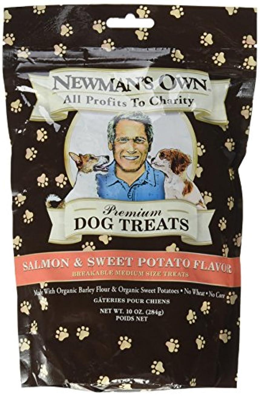 静かに発掘する成熟海外直送品Newman's Own Organics Organics Dog Treats, Salmon and Sweet Potato 10 OZ(case of 6)