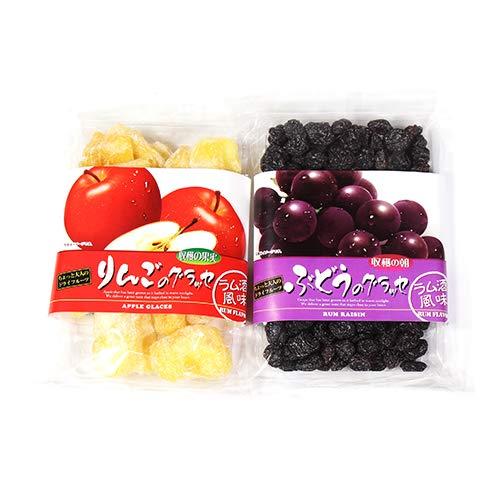 森田製菓 りんごのグラッセ & ぶどうのグラッセ セット おかしのマーチ