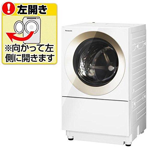 RoomClip商品情報 - パナソニック 【左開き】10.0kgドラム式洗濯機 Cuble ノーブルシャンパン NA-VS1000L-N