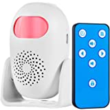 Motion Sensor Alarm, TOWODE 100dB 3 Door Alarm Modes 24 Chimes 4 Volume Levels with Remote Control Wireless Infrared Home Sec