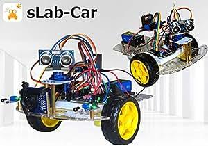 sLab-Car(エスラボ・カー)スマートロボットカー【Scratch・Arduino対応】スターターキット《IoT電子工作・プログラミング教育教材》 (標準)