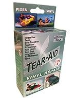 """tear-aidビニール修理パッチキット3"""" x 12"""" 7/ 8"""" x 7/ 8"""" 1–3/ 8"""" x 1–3/ 8""""タイプBグリーン"""