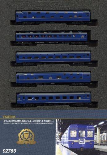 TOMIX Nゲージ 92786 24系25形特急寝台客車 (北斗星・JR北海道仕様II) 増結5両セット