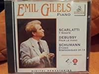 EMIL GILELS, PIANO