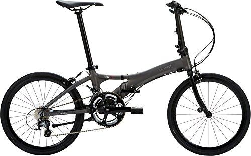 DAHON(ダホン) Visc EVO 20インチ(451) アルミフレーム 2x10段変速 チタン 折りたたみ自転車 2018年モデル DHN18VEV-TI チタン