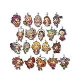 一番くじ アイドルマスター シンデレラガールズ~Cinderella's Adventure!~ F賞 ラバーストラップ 全20種
