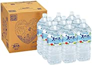[Amazon限定ブランド] Restock サントリー 天然水 ミネラルウォーター 2L ×9本