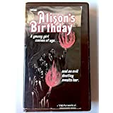 Alison's Birthday [VHS] [Import]