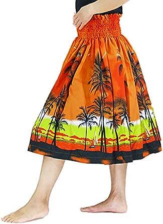 DFギャラリー パウスカート フラ ダンス衣装 レッスン着 シングル JA54260