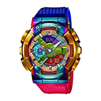 G-Shock Men's GM110RB-2A Rainbow Crazy Watch, Metal, One Size