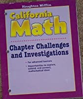 Mathmatics California Chapter Challenges and Investigations, Level 3