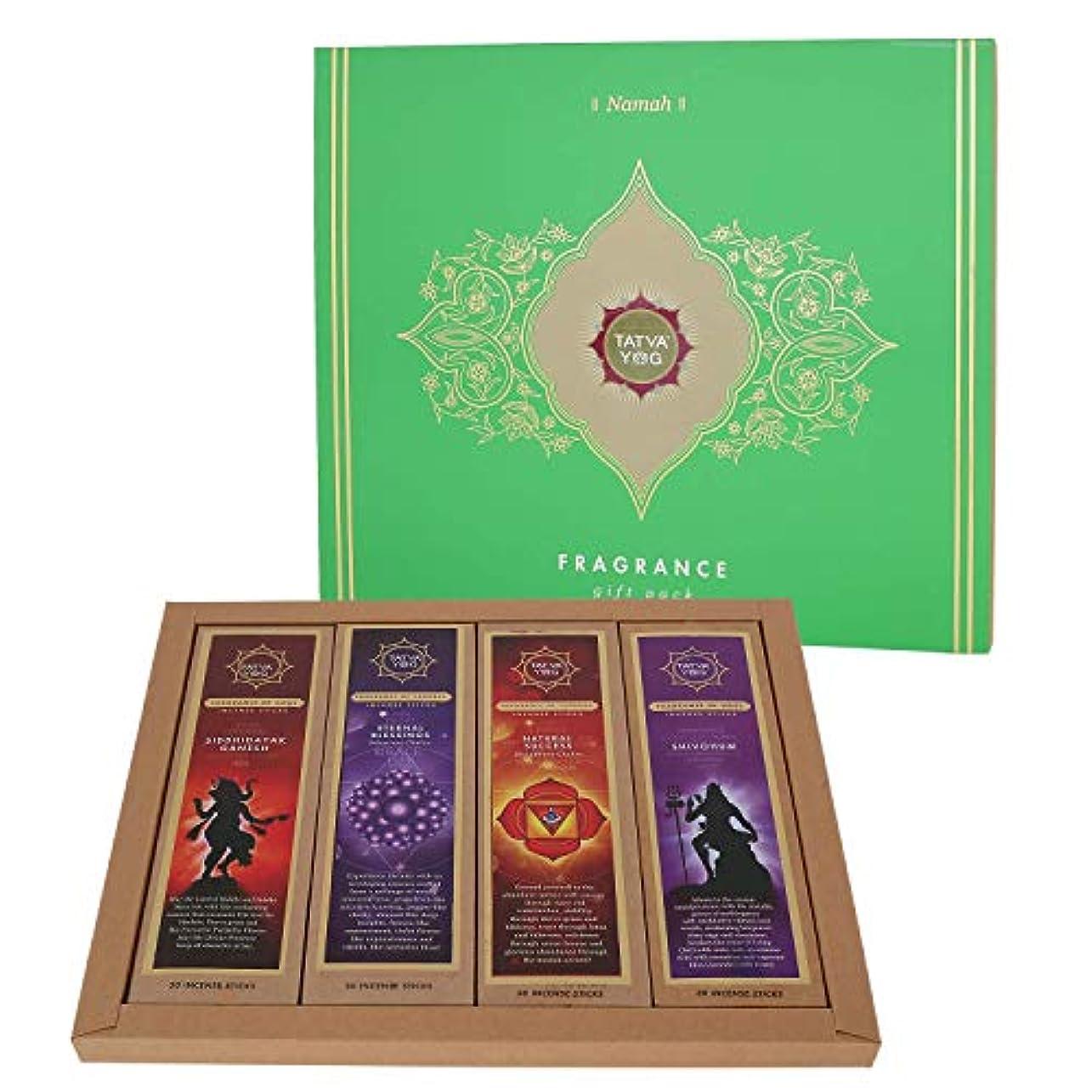 ケージ苦悩選択Yog Namah Premium Wooden Incense Sticks - Extraordinary Fragrances - Pack Of 4