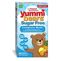 海外直送品Multivitamins Sugar Free, 60 chew by Yummi Bears (Hero Nutritional Products)