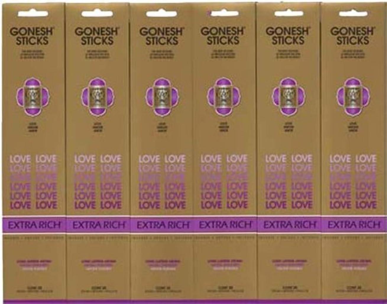 例示する研磨回るGONESH LOVE ラブ スティック 20本入り X 6パック (120本)