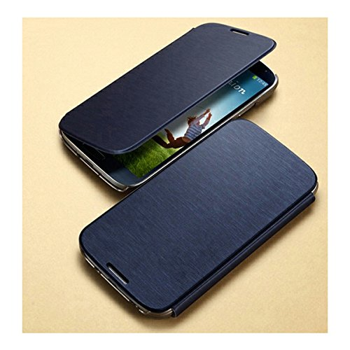 SGP GALAXY S4 用 ケース Ultra Flip Wallet Case ウルトラ フリップ ウォレット ケース カードポケット 付き メタリック ネイビー [並行輸入品]