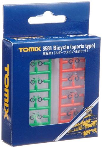 Nゲージストラクチャー 自転車1 (8台セット) 3581