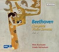 V4: Complete Violin Sonatas by LUDWIG VAN BEETHOVEN (2010-09-28)