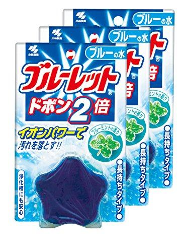 【まとめ買い】ブルーレットドボン2倍 トイレタンク洗浄剤 ブ...