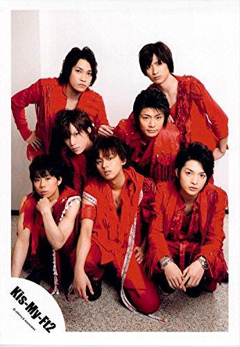 Kis-My-FT2・【公式写真】・・ 集合・✩ ジャニーズ公式 生真【スリーブ付】 su32