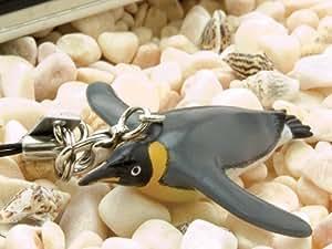 72505 リアルフィギュア ストラップ キングペンギン