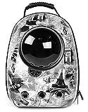 Eternal Wings ペット バッグ ペット用キャリーバッグ 宇宙船カプセル型ペットバッグ 犬猫兼用 ペットバッグ ネコ ニャンコ 犬 ペット用品 リュックサック 人気ペット鞄 (8)
