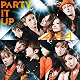 PARTY IT UP♪AAAのCDジャケット