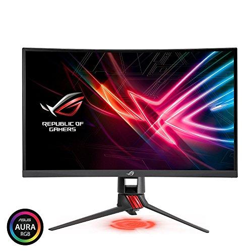 ASUS ROG Strix XG27VQ 27 Curved Full HD 1080p 144Hz DP HDMI DVI Eye Care Gaming Monitor [並行輸入品]