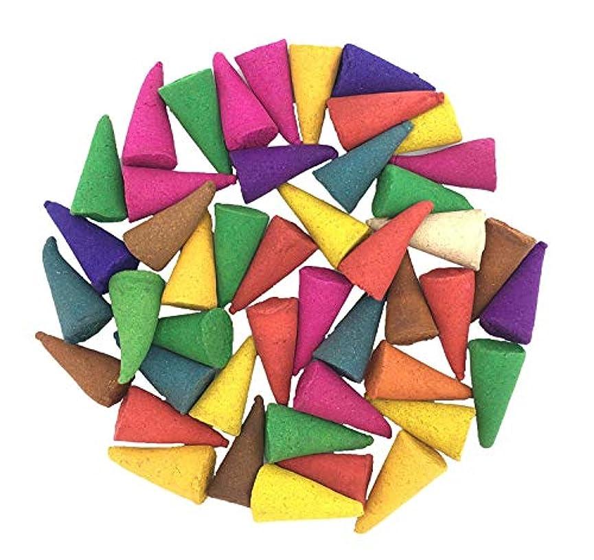 噂強調する現れるIncense Conesミックスのさまざまな香り(パックof 100 Cones )タイ製品