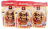 日清お菓子百科 ふんわりくちどけホットケーキミックス チャック付 600g×3個