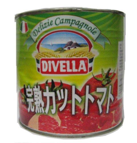 ディヴェッラ ダイスカットトマト 2500g