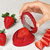 Yosa Hot Sale Strawberry Section Cutter Kitchen Craft Fruit Tools Convenient Slicer Accessories by Yosa