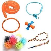 [キュリアスマインド]Curious Minds Busy Bags Tiny Fidget Toy Bundle Small Finger Fidget Set for Students, Adults and [並行輸入品]