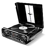 ION Audio レコードプレーヤー 1965年製フォード マスタング デザイン 4種再生可能【レコード、ラジオ、USB、外部入力】 Mustang LP