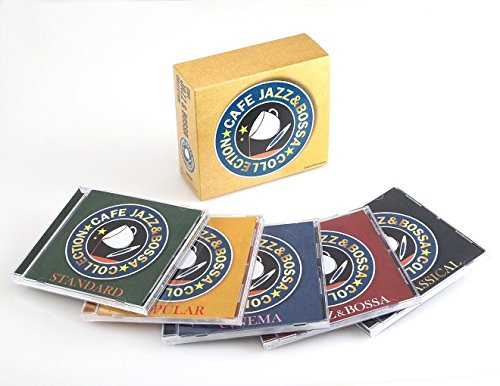 カフェで流れるJAZZ&BOSSAコレクション(5CD)