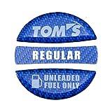 TOM'S(トムス) フューエルキャップガーニッシュ ブルー・レギュラー 77315-TS001-B2 77315-TS001-B2