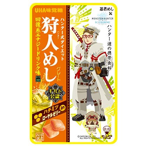 【メール便】味覚糖 旨味シゲキックス 忍者めし 回復エナジー20G 20袋(10×2)