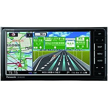 パナソニック カーナビ ストラーダ CN-RE03WD フルセグ/VICS WIDE/SD/CD/DVD/USB/Bluetooth/Wi-Fi 7V型ワイド