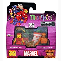 MiniMates: Marvel Best of Series 1 Iron Man and Thing Mini Figure 2-pack