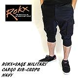 ROKX ROKX×SAGE DE CRET MILITARY CARGO RIB-CROPS クロップド NAVY RXMS6SR7 rokx クライミングパンツ rokx クロップド M
