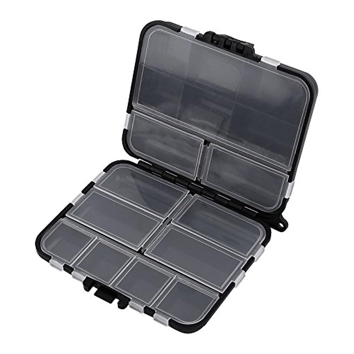 内なるメイト会員ルアーケース 釣りタックルボックス 釣具収納 ポータブル 仕掛け小物入れ 26個のコンパートメント 持ち運び易い 釣り道具 ボックス 釣りの餌箱